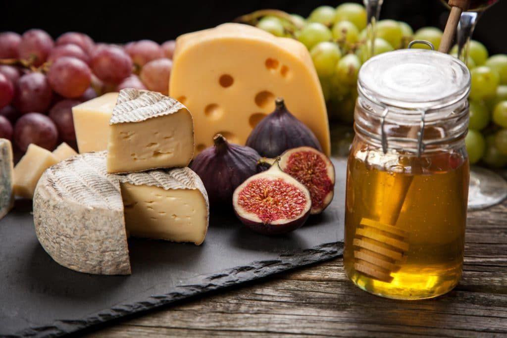 Рецепт сыра с мёдом
