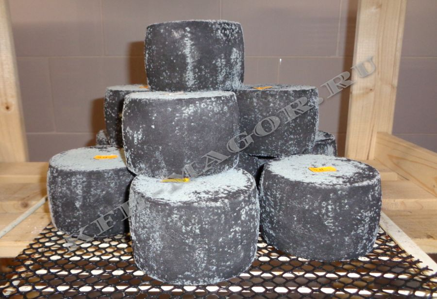 Сыр в дубовой золе
